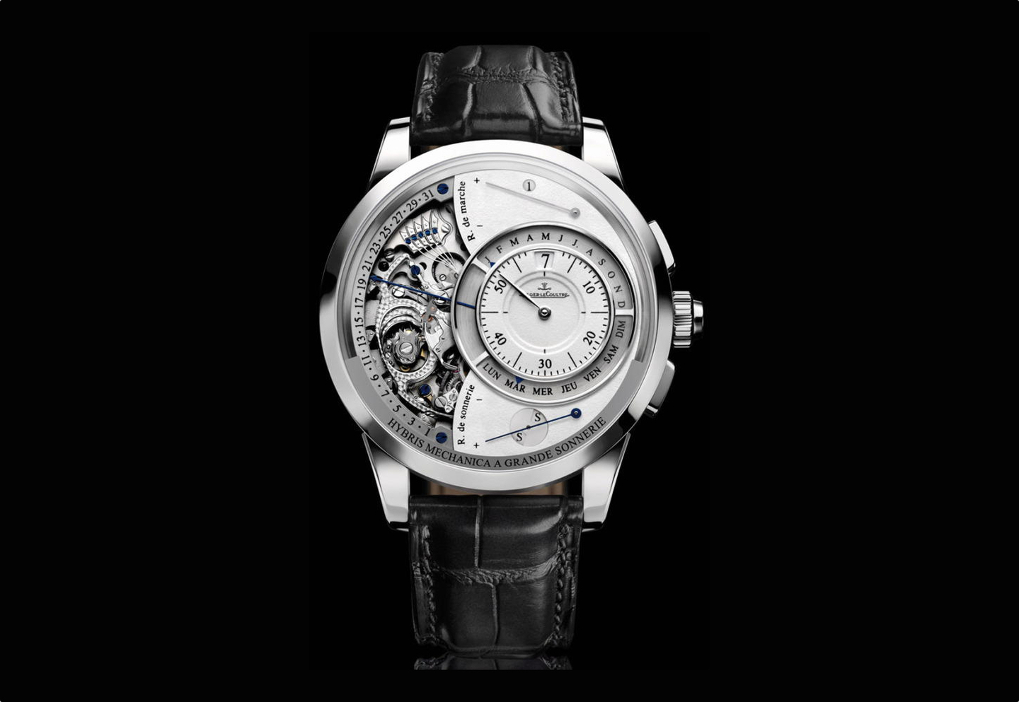 Hybris mechanica grande sonnerie professional watches for Grande sonnerie