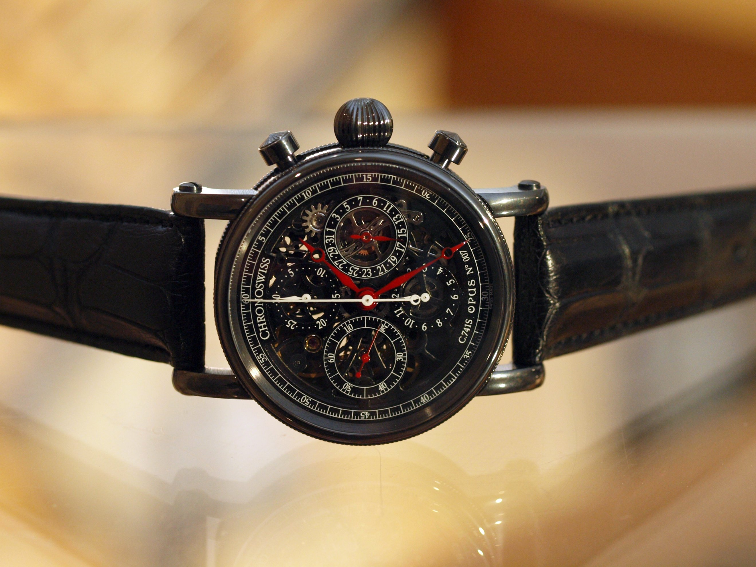 Chronoswiss Grand Opus Chronograph Black Magic