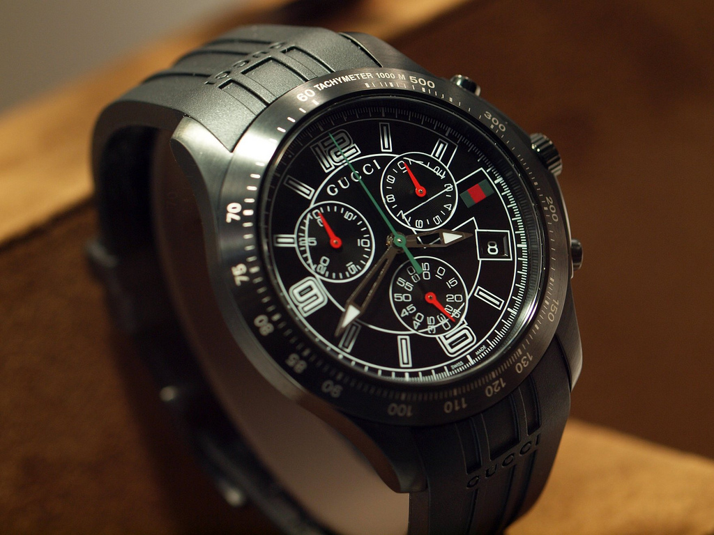 c3cfe9aaeb7 Gucci Classic Chronograph Watch Introduced in Basel