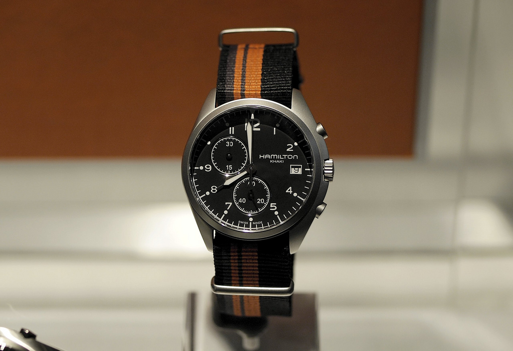 2eb5357eac6 Baselworld  Hamilton Khaki Pilot Pioneer