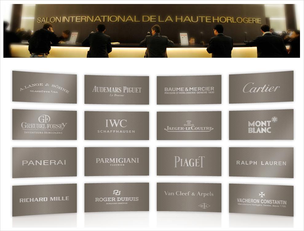Salon international de la haute horlogerie 2013 - Salon international de la haute horlogerie ...
