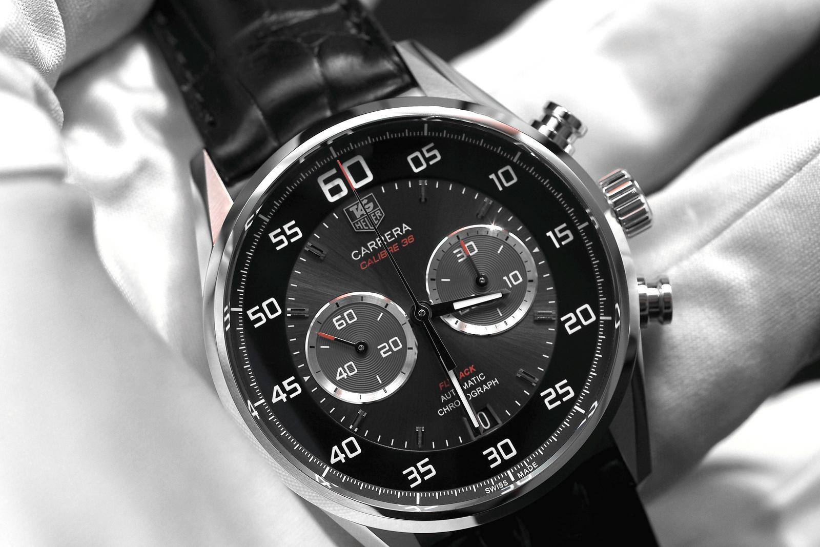 81eb4d19a95 TAG Heuer Carrera Calibre 36 Flyback Chronograph