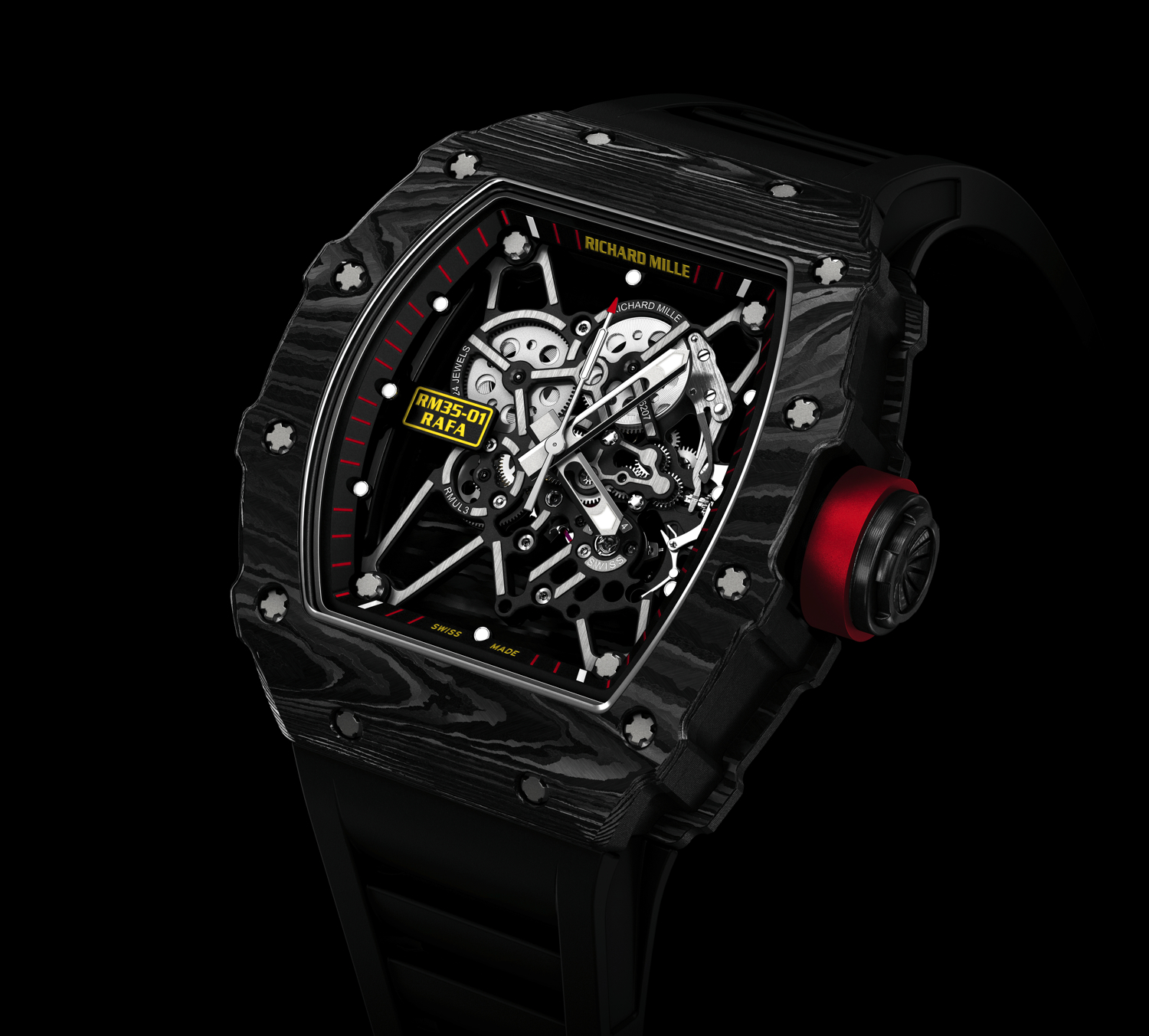 The Richard Mille Rafael Nadal Rm 35 01 Rafa