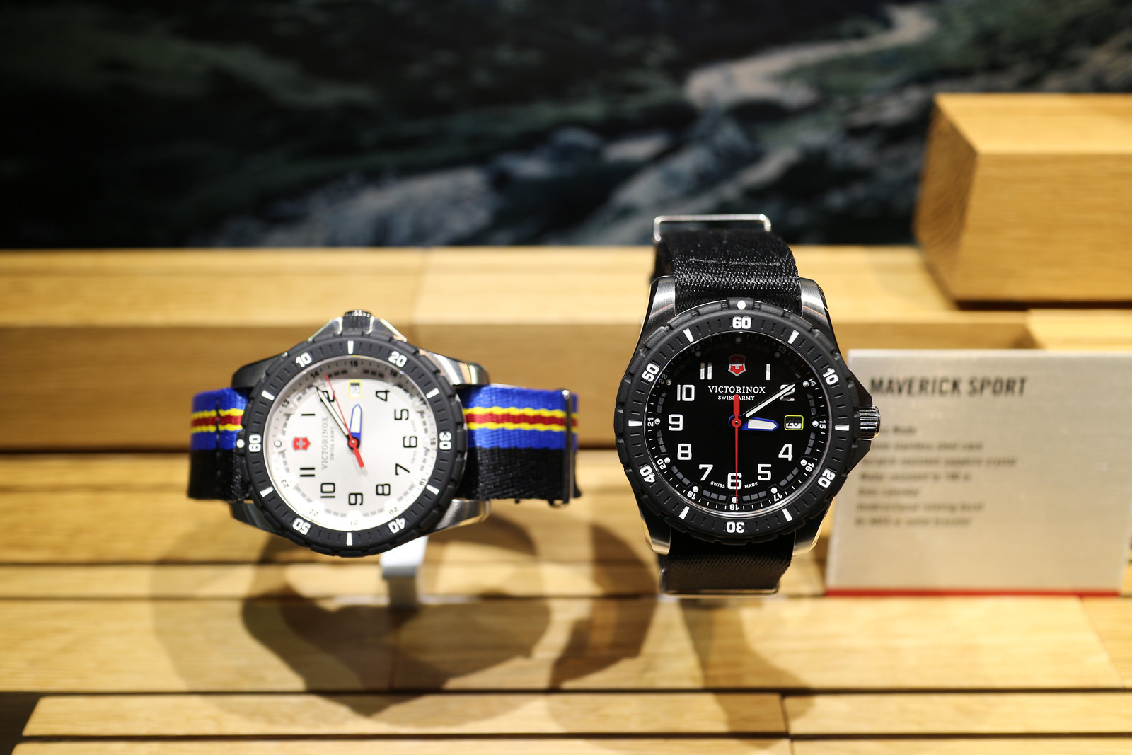 96366dfff12 Victorinox Adds To Maverick Sport Collection