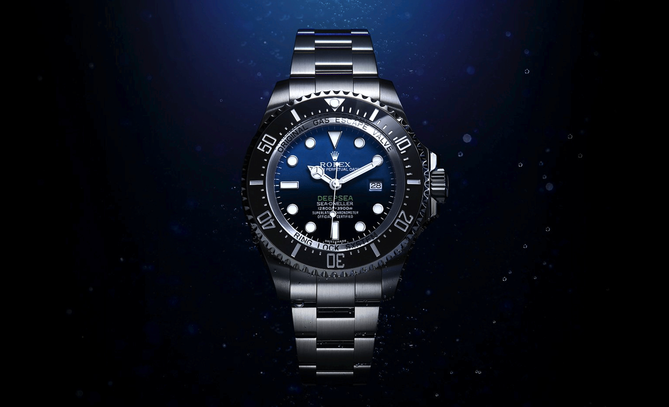 3efd1083c38 Rolex launches Deepsea with D-Blue dial in tribute to James Cameron