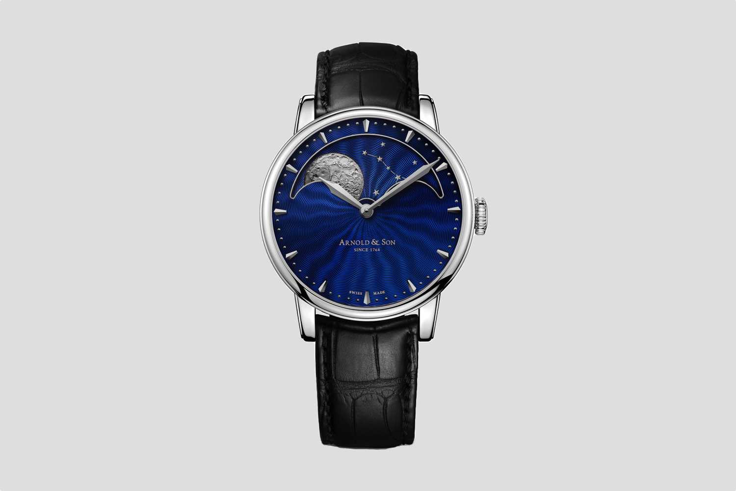 Arnold & Son HM Perpetual Moon steel