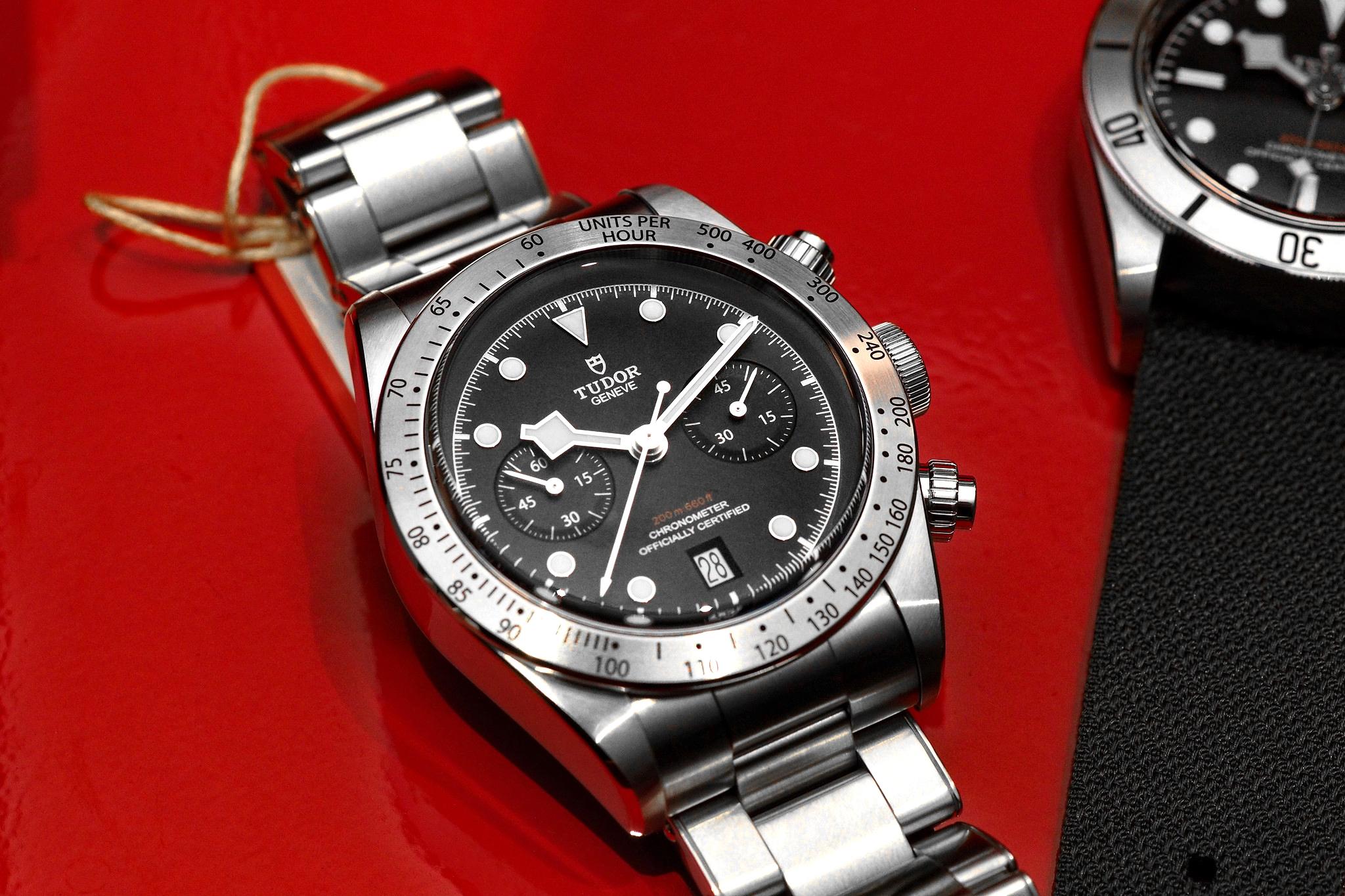 5e7db230035 Tudor Black Bay Chronograph Hands-On