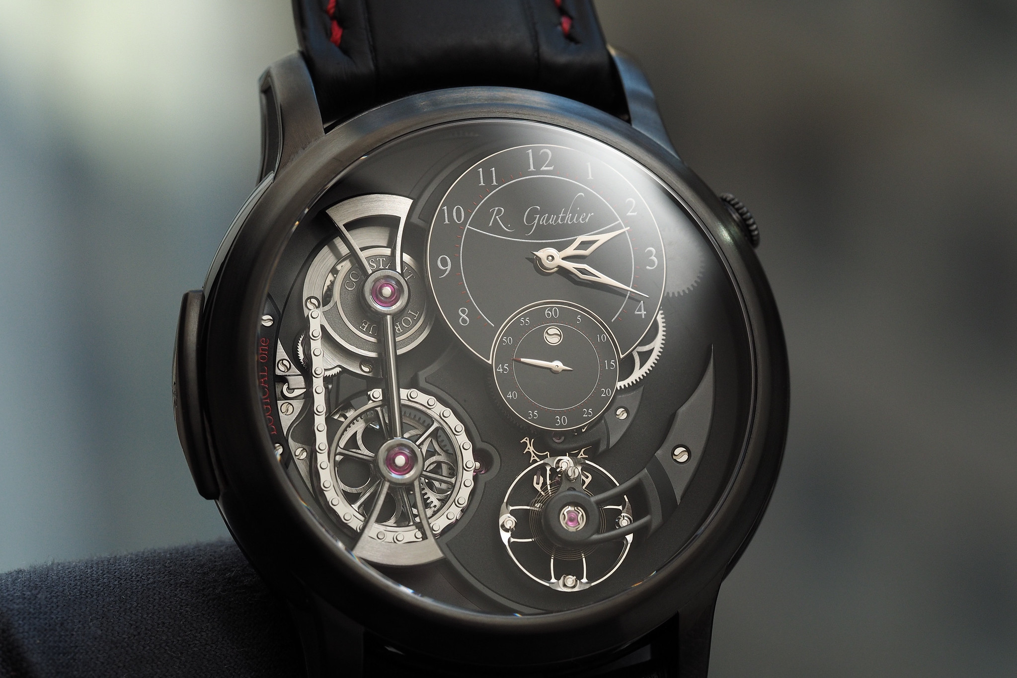 Video: Romain Gauthier demonstrates the Logical One