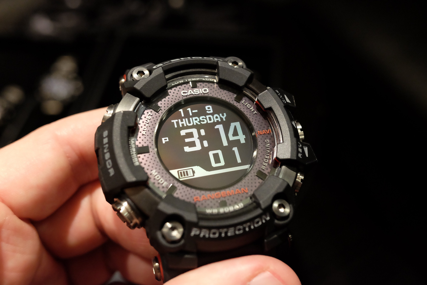 casio debuts gps equipped g shock rangeman at ces. Black Bedroom Furniture Sets. Home Design Ideas