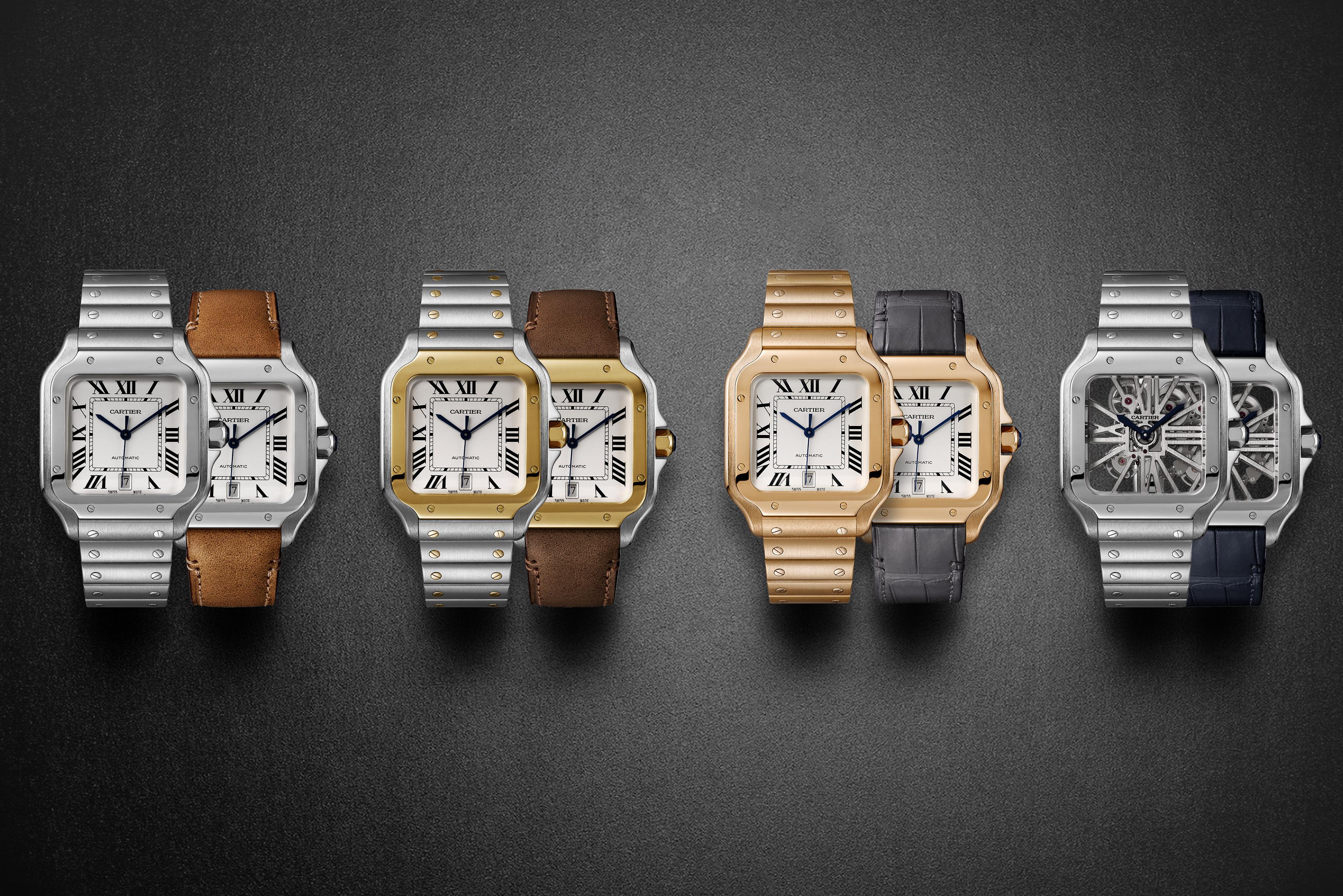 ef05ecb8e9588 Introducing the new Santos de Cartier collection