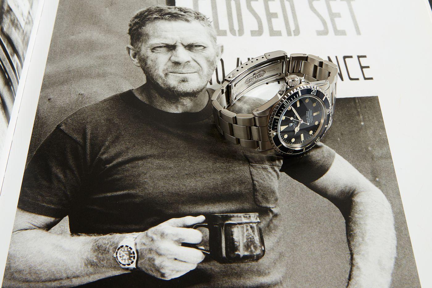 Steve Mcqueen Rolex Submariner Ref. 5513