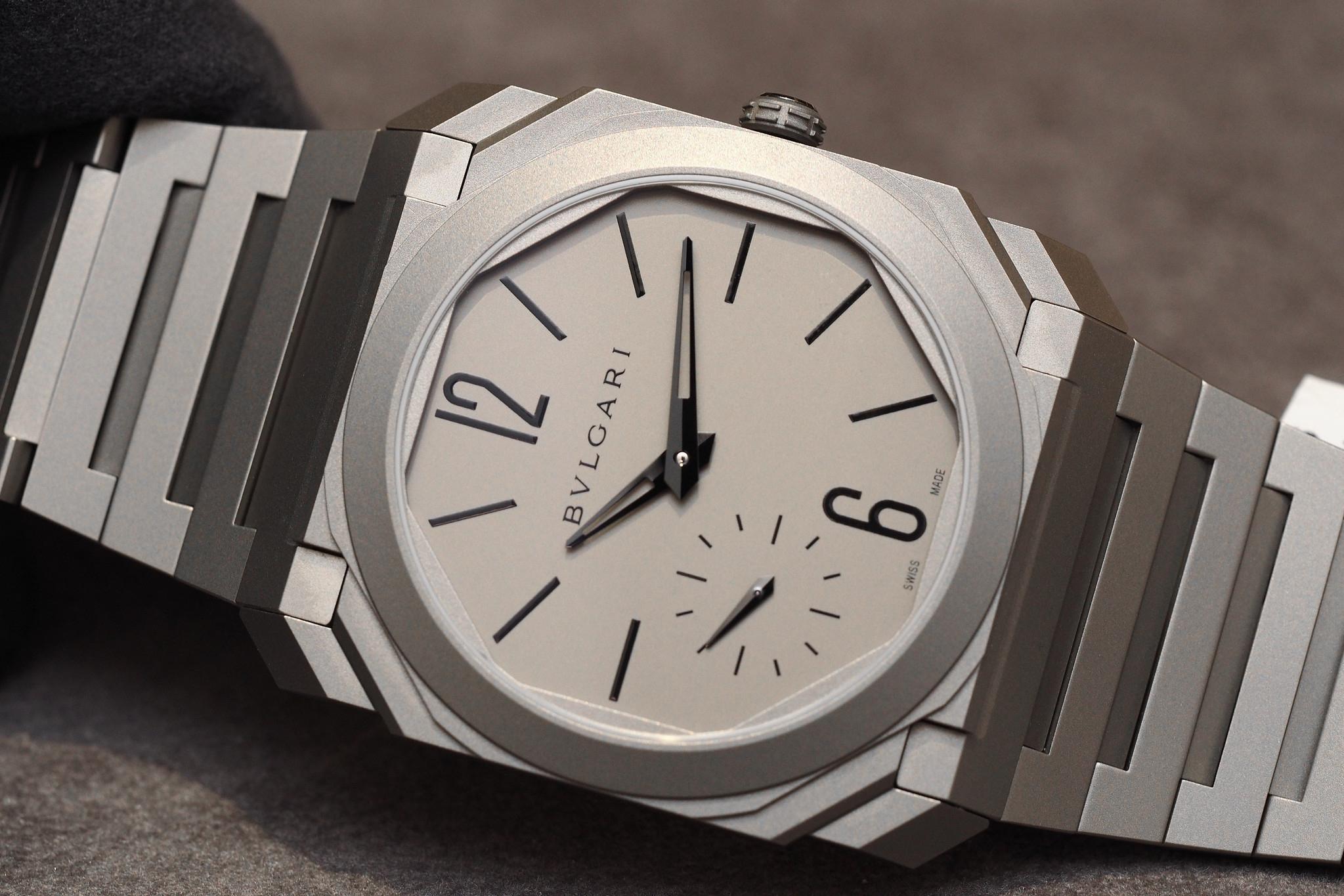 Bulgari Octo Finissimo Automatic Titanium
