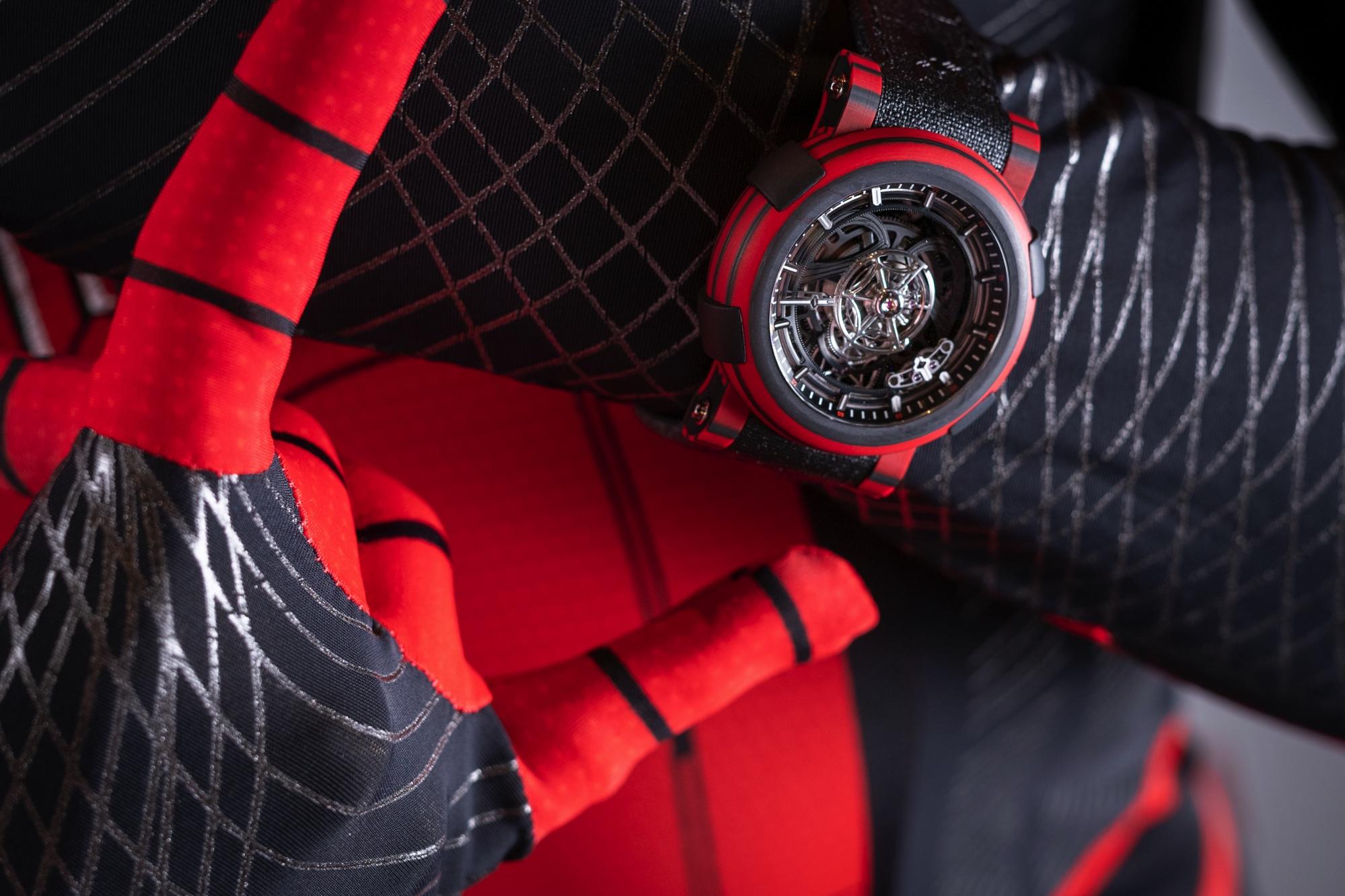 RJ Arraw Spider Man Tourbillon