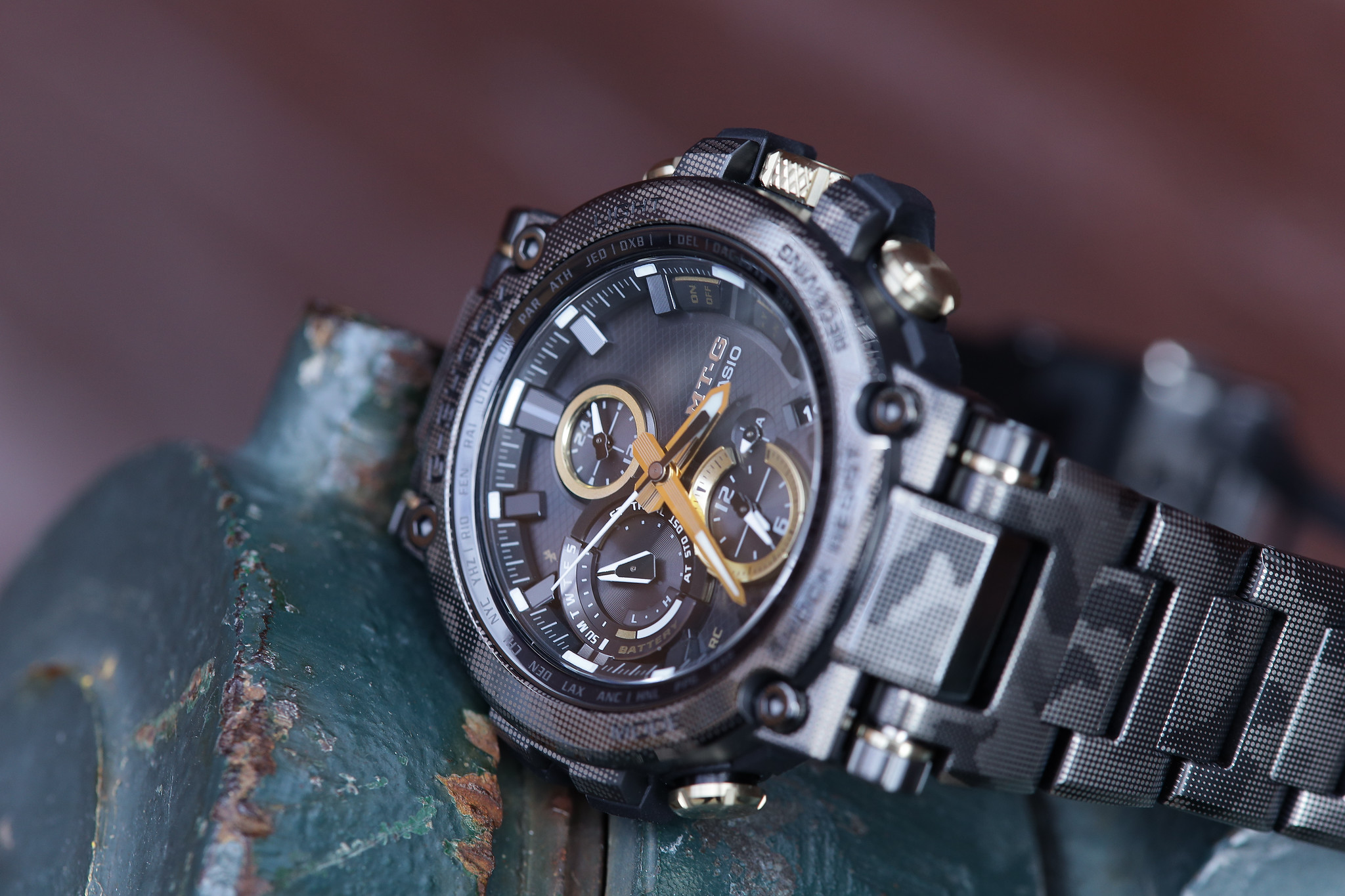MT-G Camouflage Print Limited Edition by G-Shock