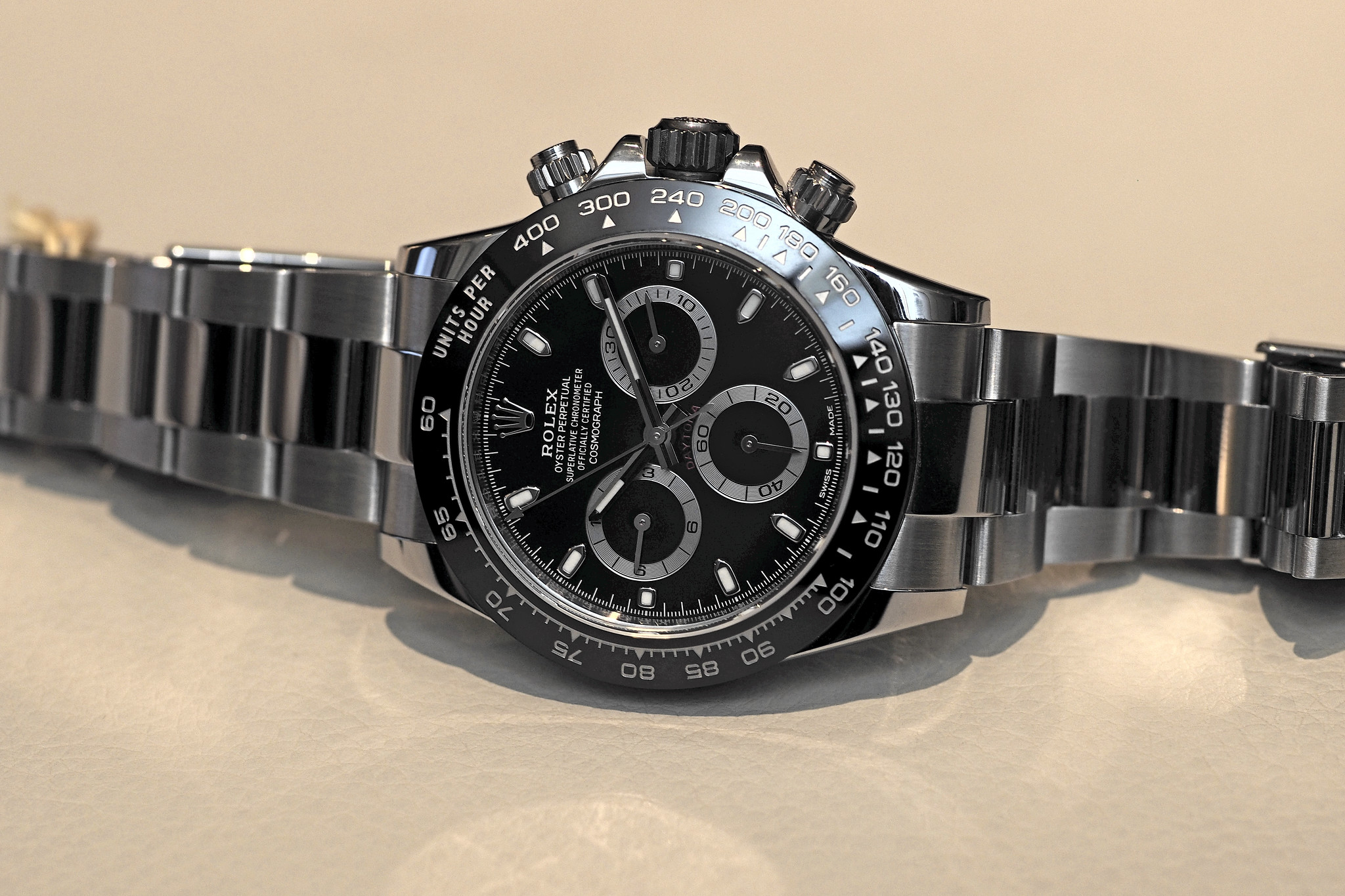 Rolex Daytona Ceramic with black dial