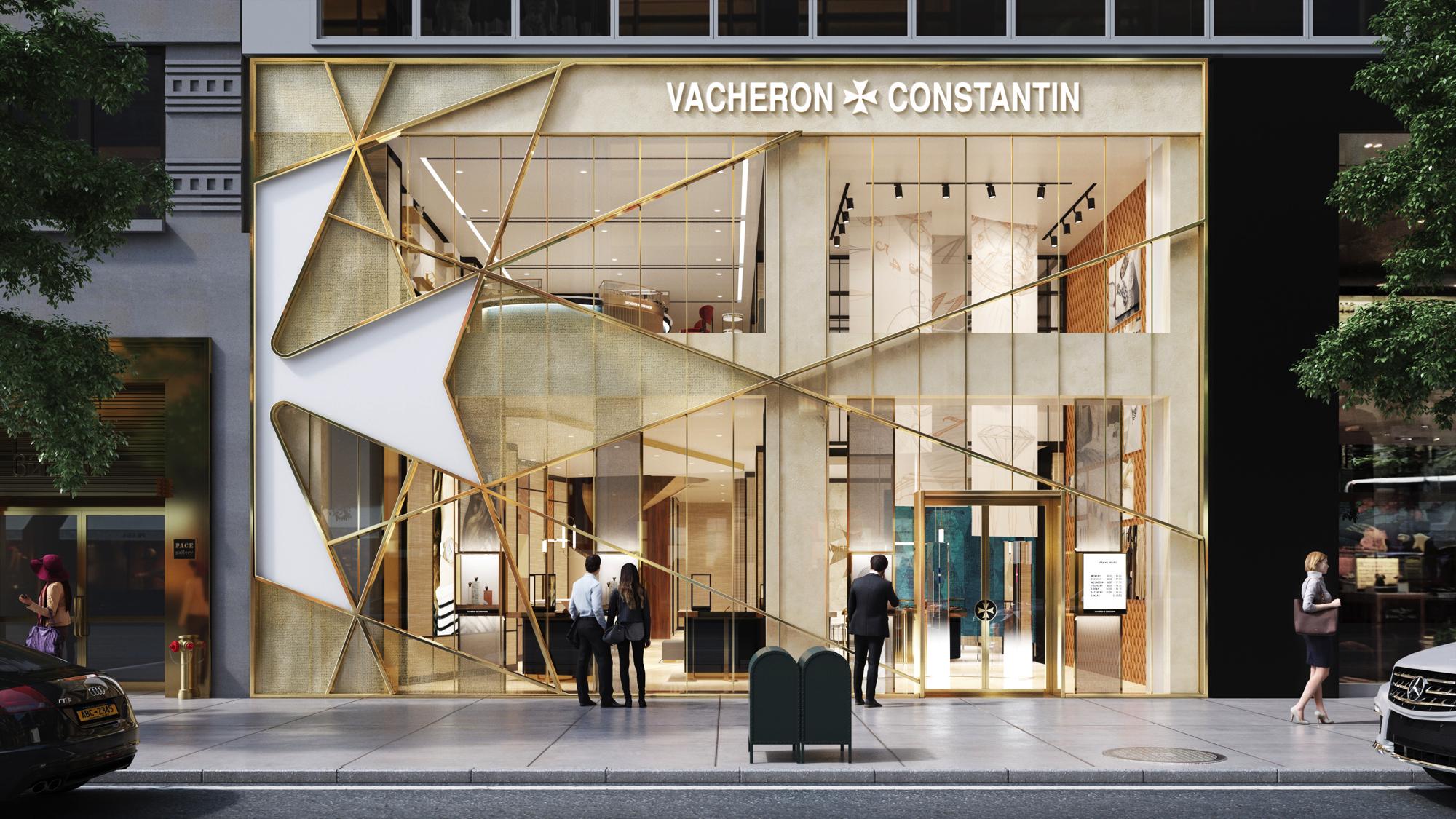 Vacheron Constantin New York Flagship Rendering