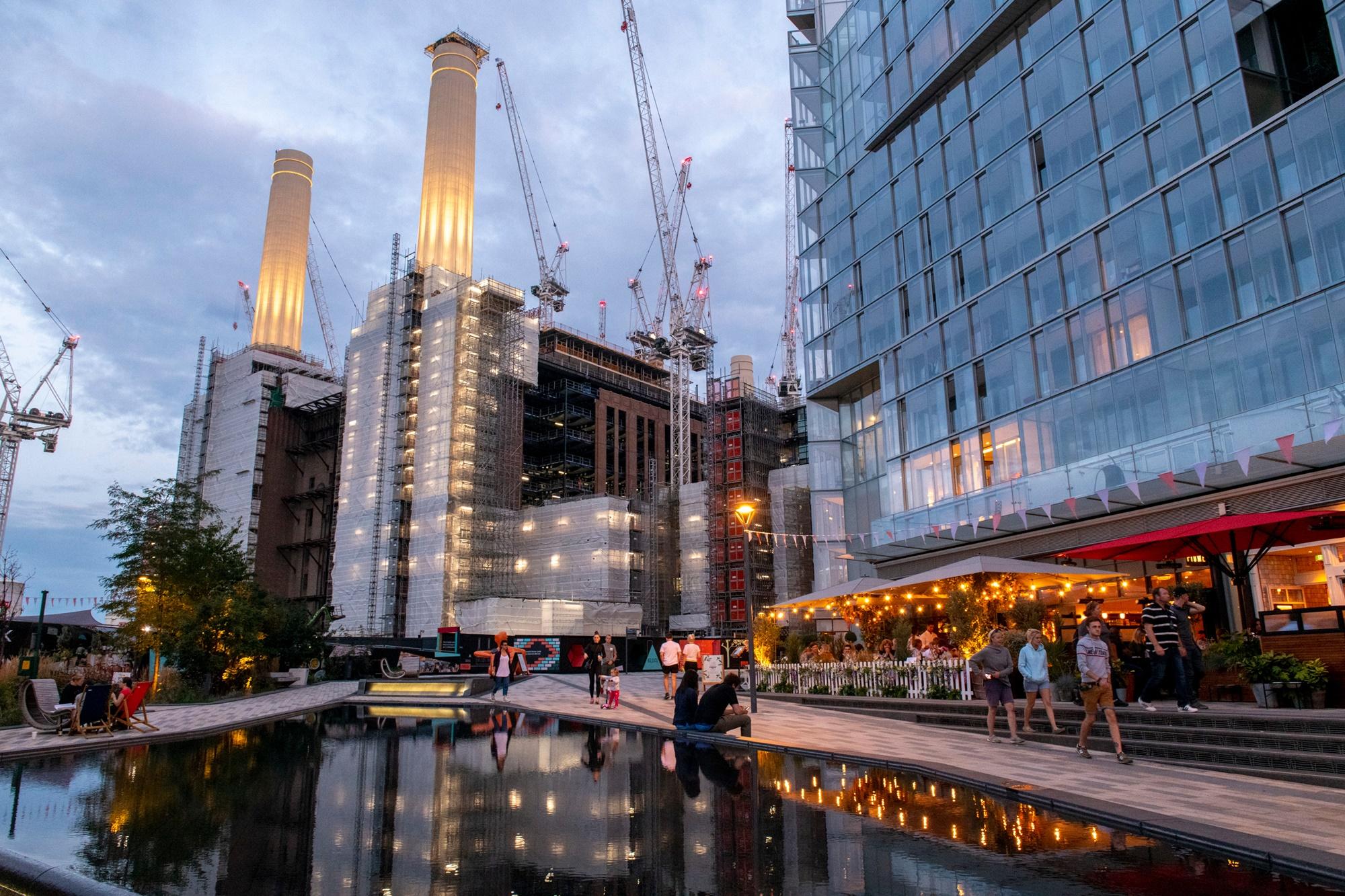 Battersea Power Station retail development
