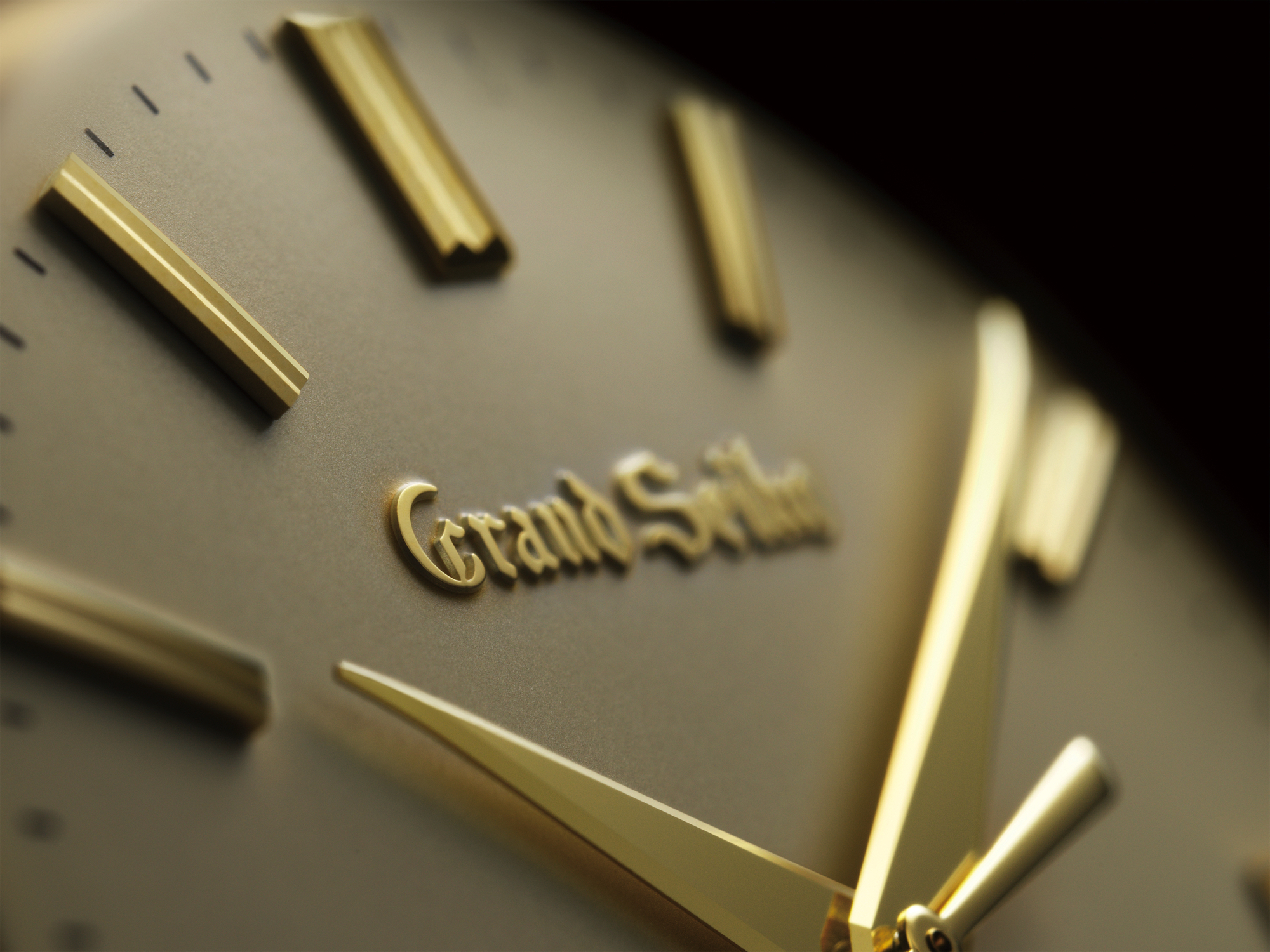 Grand Seiko SBGW258 dial close up