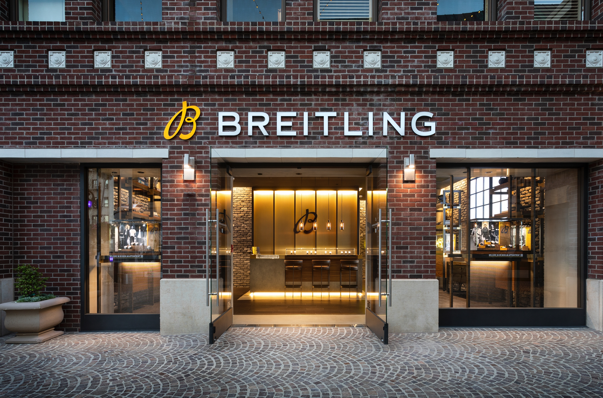 Breitling Boutique Beverly Hills front facade