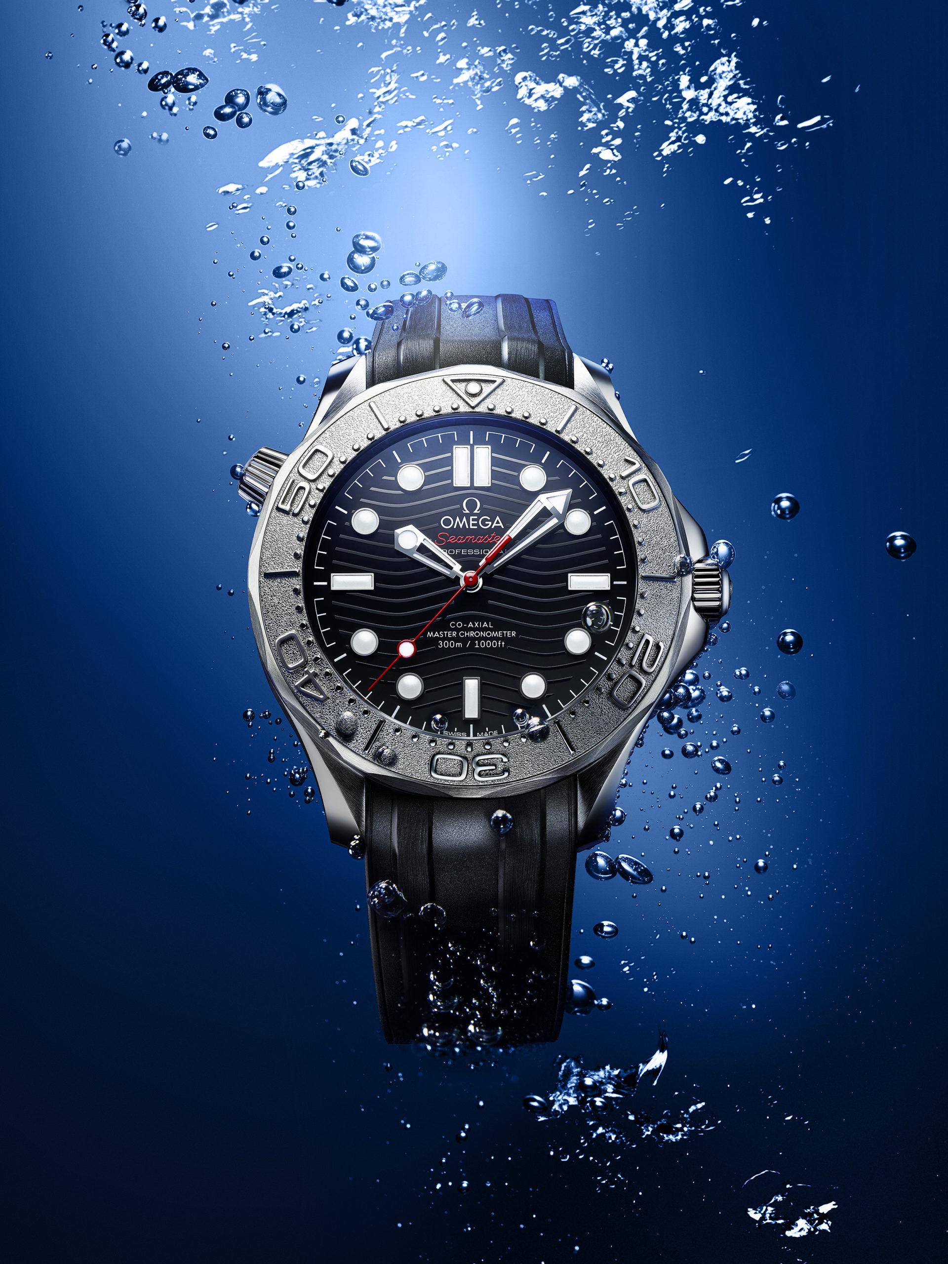 Omega Seamaster Diver 300M Nekton Edition front