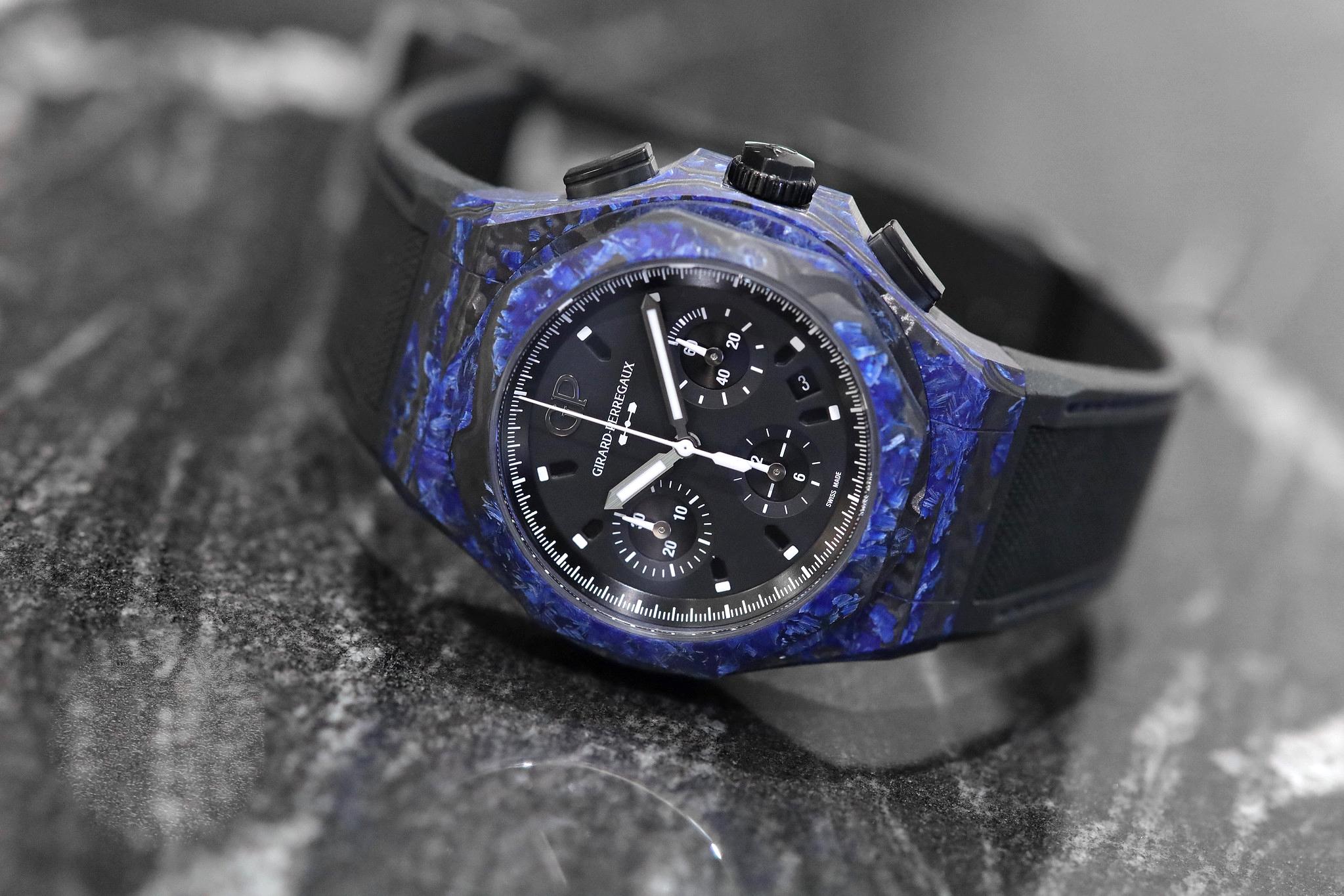 Girard-Perregaux Carbon Glass Laureato Absolute Chronograph