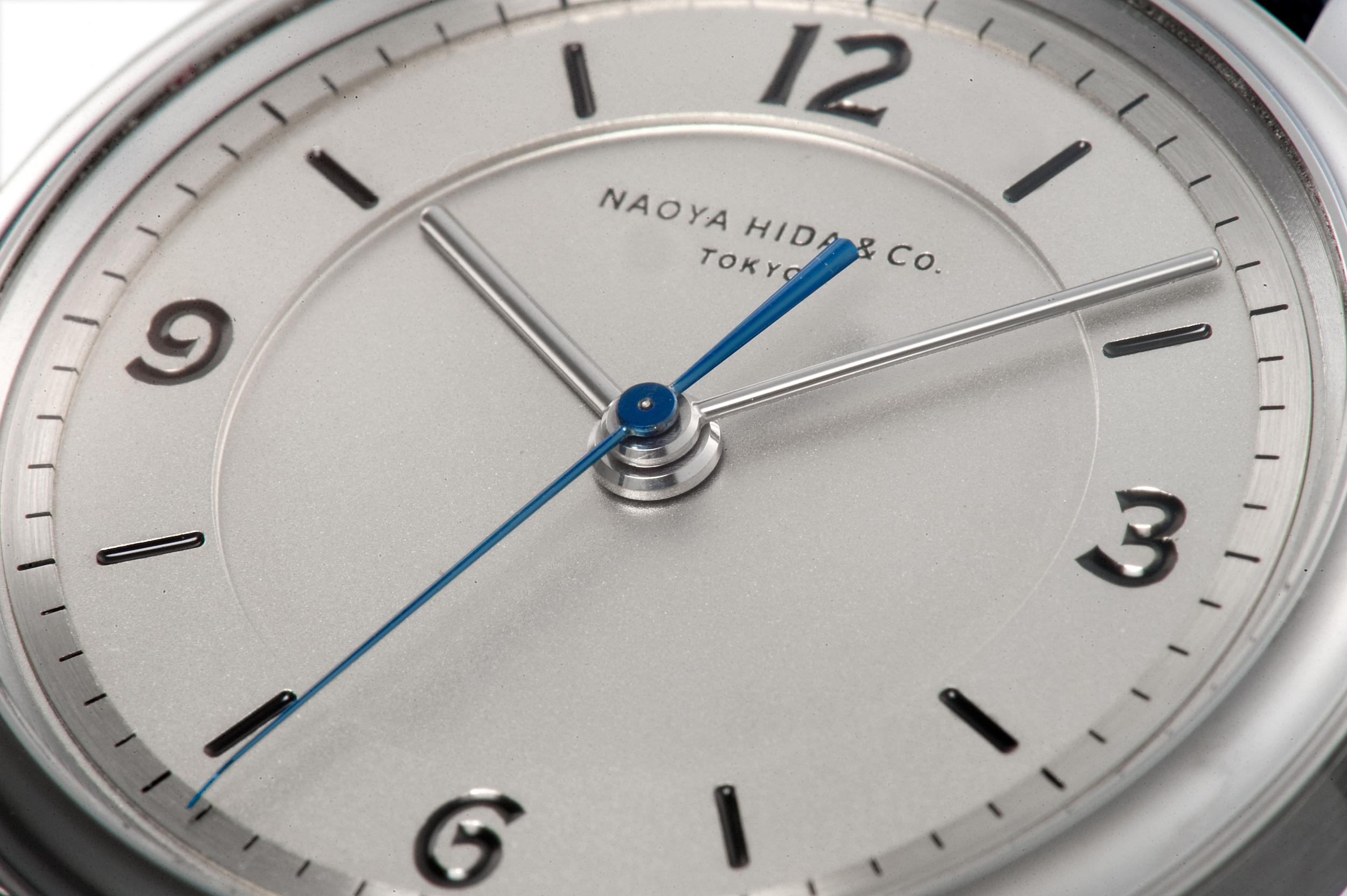 NAOYA HIDA watch dial
