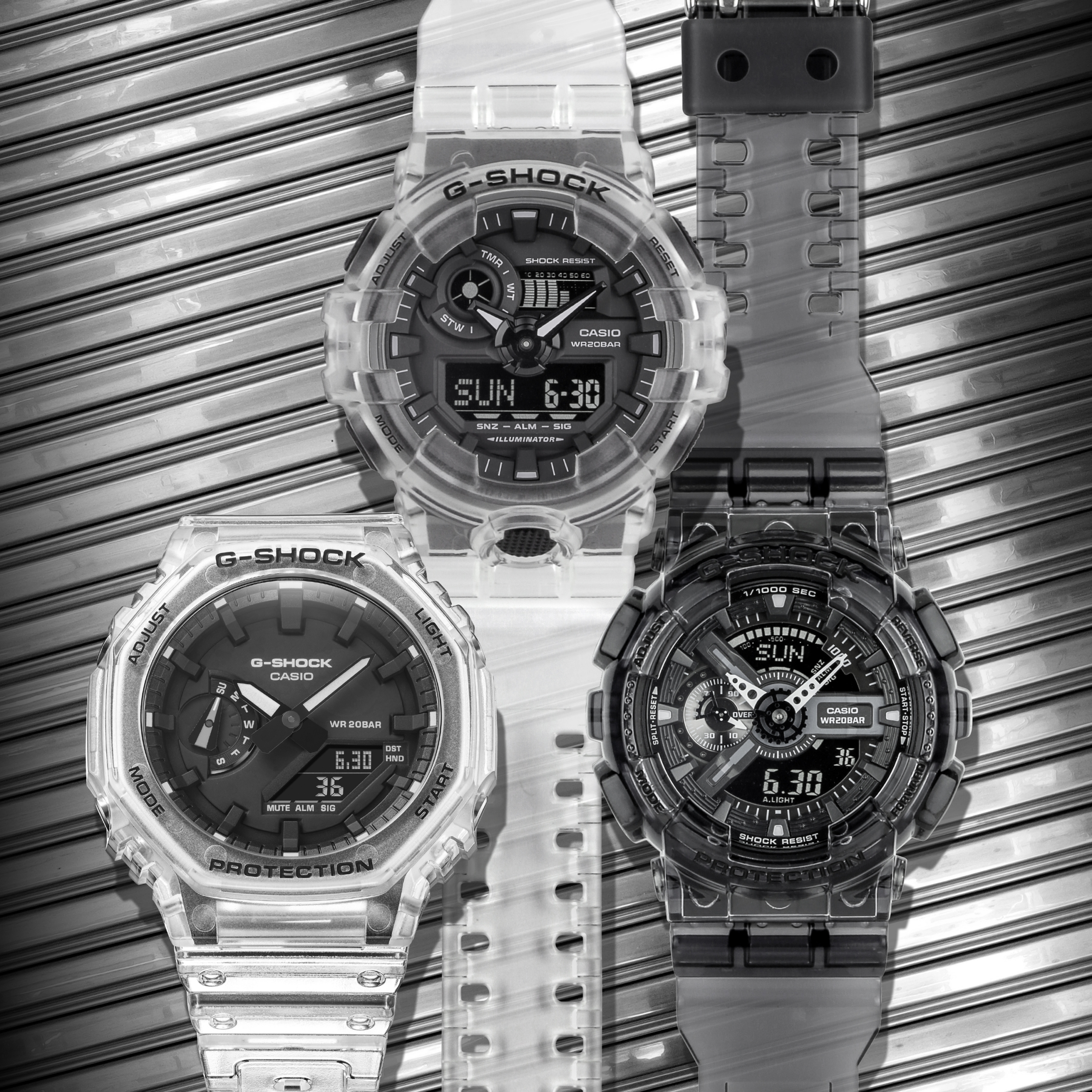 2021 G-Shock Transparent Series