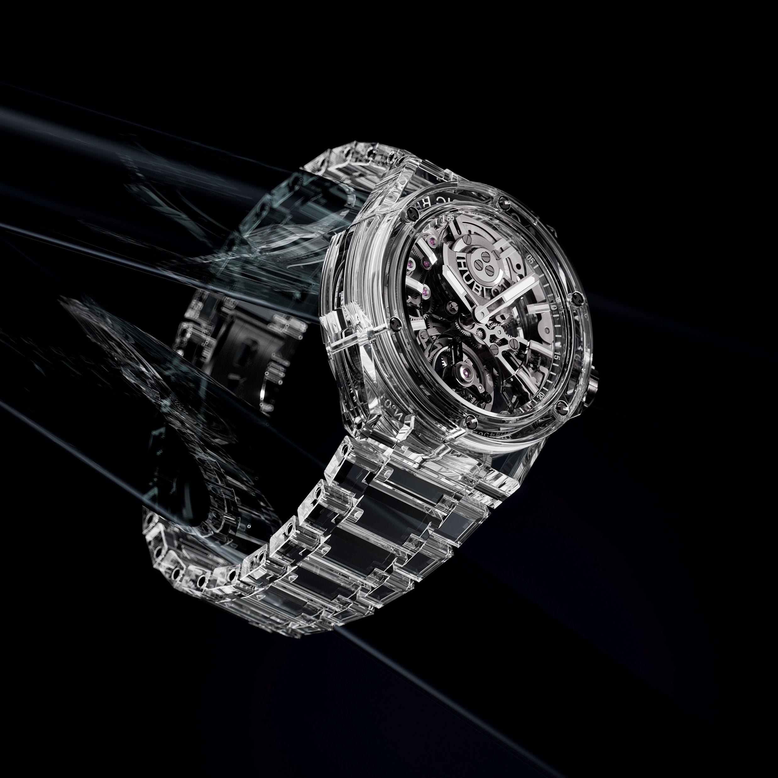 Hublot Big Bang Integral Tourbillon Full Sapphire