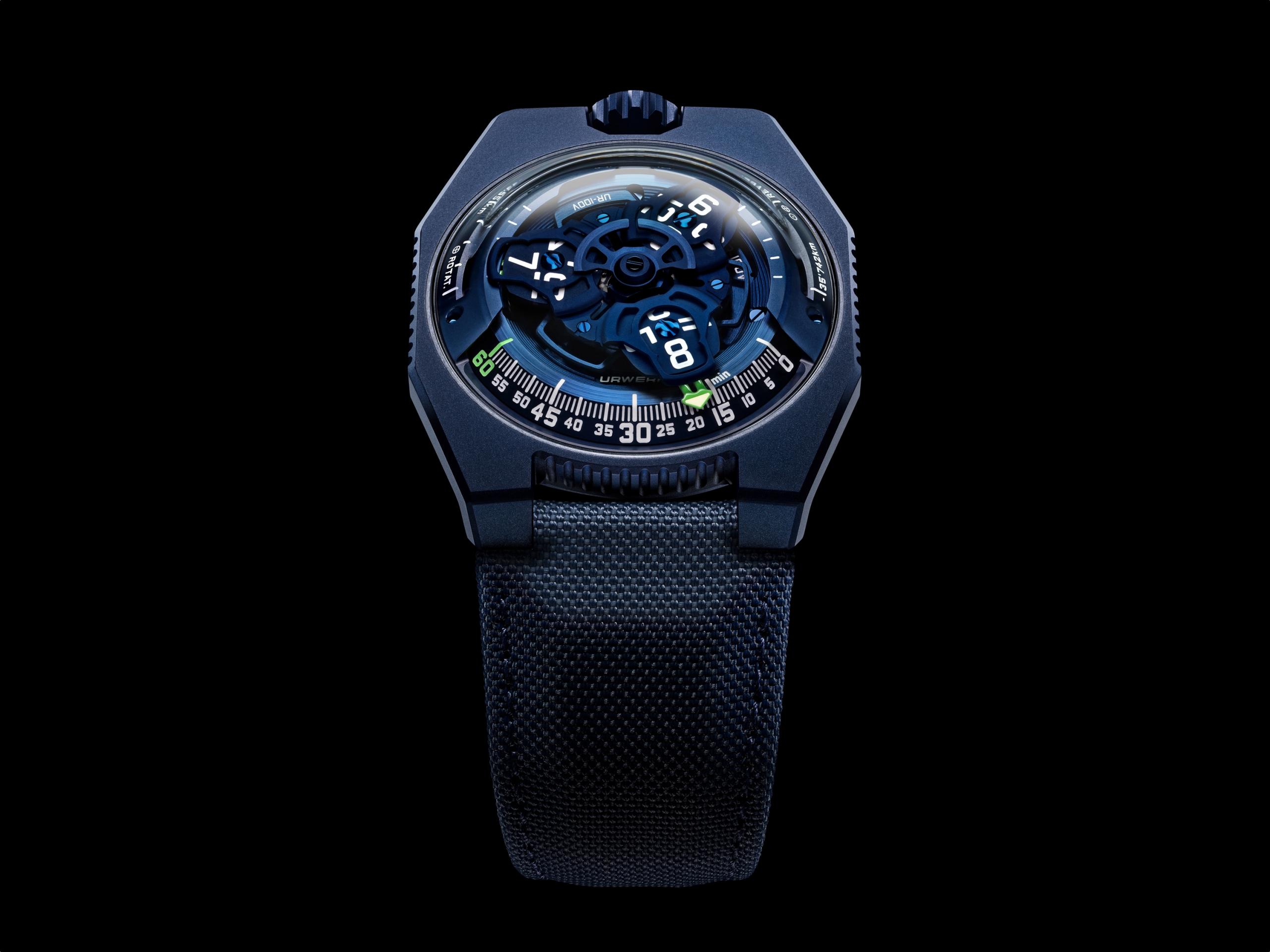 Urwerk UR-100V Blue