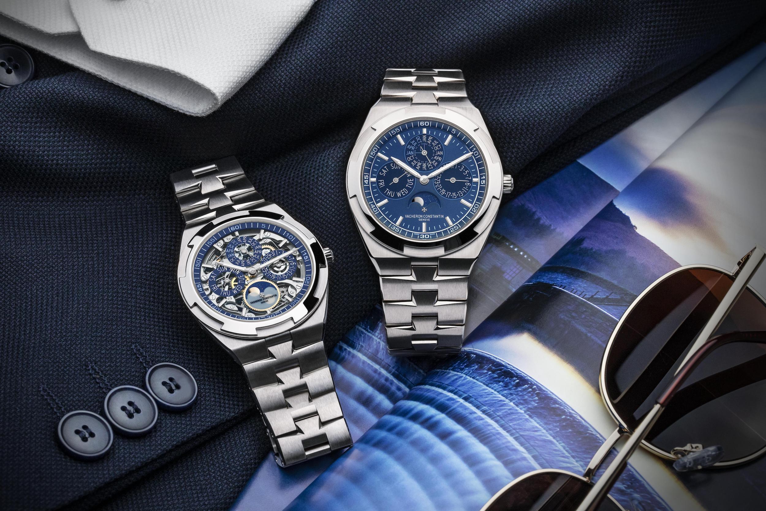 2021 Vacheron Constantin Overseas Perpetual Calendar Ultra-Thin timepieces